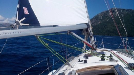 Charter sailboat in Lefkada peer-to-peer
