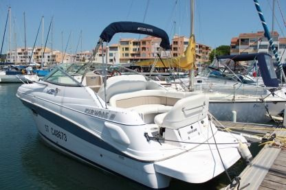 Rental Motorboat Four Winns Vista 248 Canet-en-Roussillon