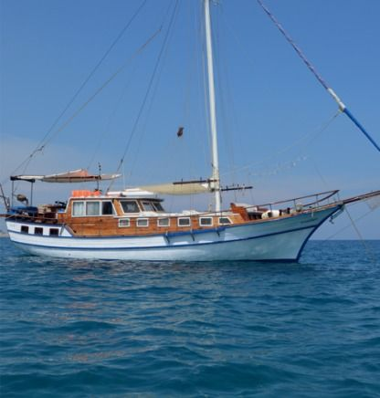 Charter Sailboat Wooden Tailor Made Gulet Rhodes