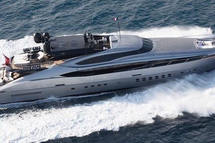 Location Yacht Palmer & Johnson 150 Monaco