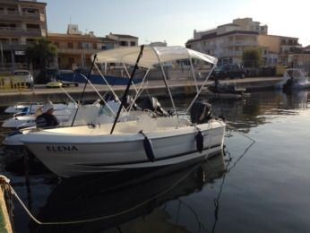 Charter Motorboat Quicksilver 410 Fish Can Picafort