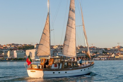 Hire Sailboat G. L. Watson 55'' wooden ketch Lisbon