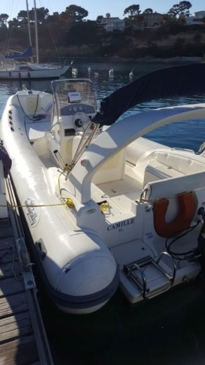 RIB Nuova Jolly King 720 King 720 for hire