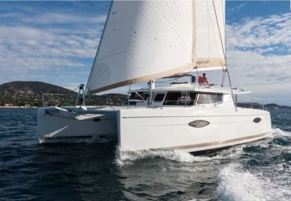 Location Catamaran Fountaine Pajot Helia 44 Evolution 2016 Mandelieu-la-Napoule