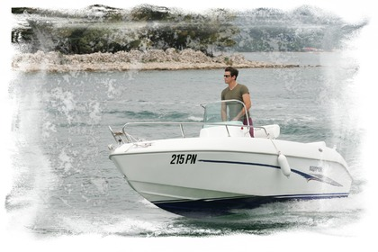 Rental Motorboat AQUAMAR VALENTINA OPEN Punat
