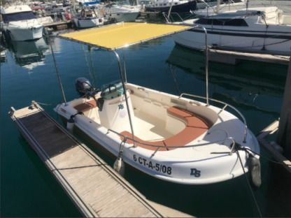 Charter Motorboat Astec Open 15Cv Alicante