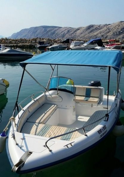 Rental Motorboat Cobra 499 White Lopar