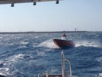 Motorboat Mare 5.5M 80Hp for hire