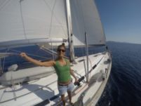 Bavaria 49 in Santorini for hire