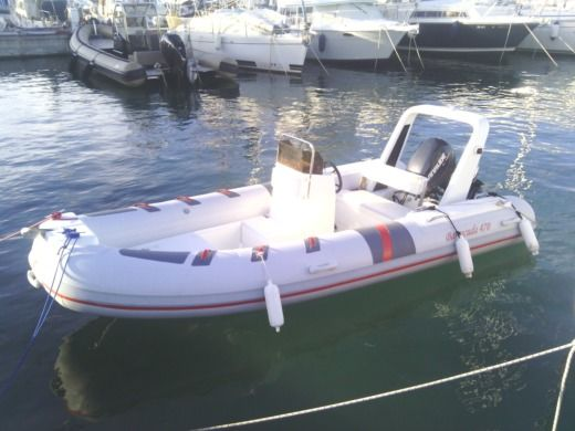 RIB Barracuda Barracuda 470 for hire