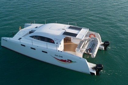 Rental Motorboat Asian Catamaran 38 Chalong