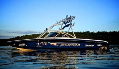 Rental Motorboat Supra By Skiers Choice Launch 22 Ssv Ruskin
