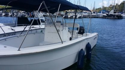 Rental Motorboat Sea Pro Boats Sea Pro 220C Le Gosier
