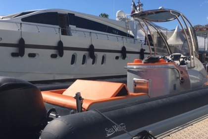 Rental RIB Sea-water Smeralda 320 Grimaud