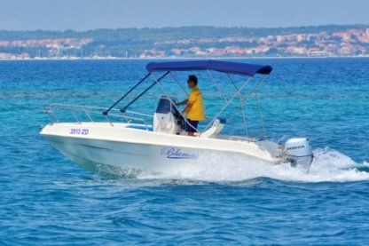 Rental Motorboat Tancredi Bluemax Open 19 Kraljevica