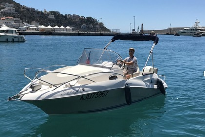 Charter Motorboat QUICKSILVER 555 COMMANDER Nice