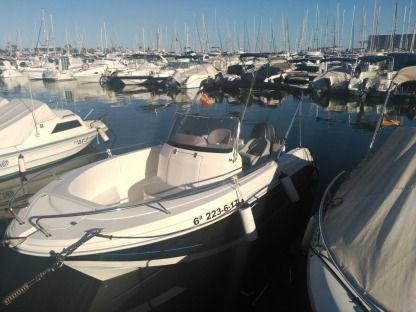 Rental Motorboat Pacific Craft 545 Open Santa Pola