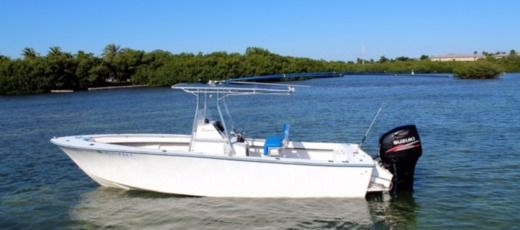 Charter Motorboat Seacraft Mako 23 Classic Key West