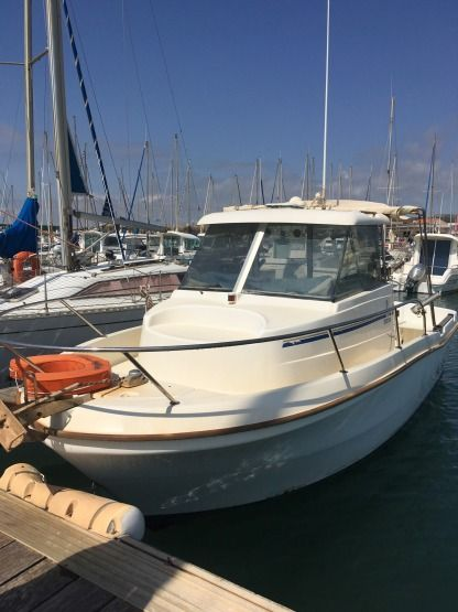 Miete Motorboot Beneteau Antares 6.20 Narbonne