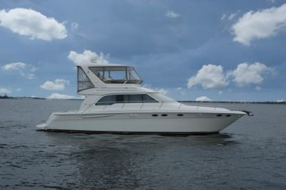 Charter Motorboat Sea Ray 550 Sedan Bridge Fort-de-France Bay