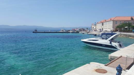 Charter motorboat in Split
