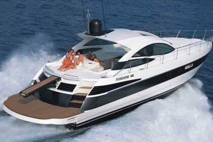 Hire Motorboat PERSHING Open Sport 46 Mykonos