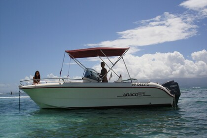 Hire Motorboat OCQUETEAU ABACO 21 Pointe-a-Pitre