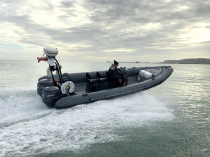 Rental RIB Dk Boats 26Ft Category 3 Commercial Rib – 6 Man Weymouth