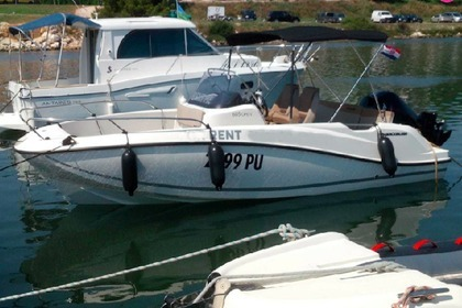 Rental Motorboat QUICKSILVER Active 605 open Pula