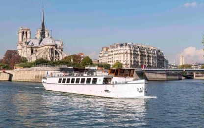 Rental Houseboat Melody Lmb Paris