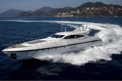 Location Yacht MANGUSTA 108 Monaco