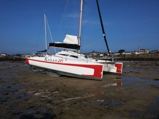 Location Catamaran Tregor Composites Rackam 26 Carantec
