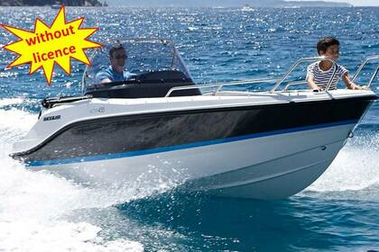 Rental Motorboat QUICKSILVER B455 'Theia' without licence Ca'n Pastilla