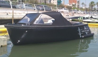 Charter Motorboat Corsiva Tender 500, Black local 23