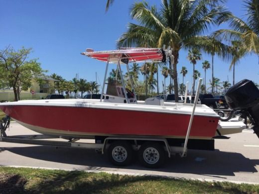 Rental Motorboat Donzi 25' Miami