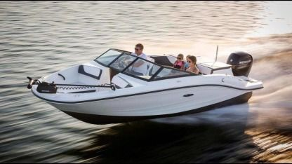 Rental Motorboat Sea Ray Spx 190 Miami