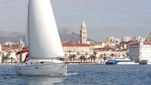 Charter sailboat in Split
