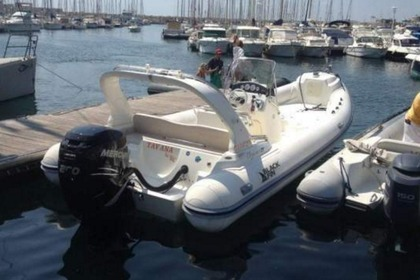Rental RIB NUOVA JOLLY Black Fin Elegance Marseille