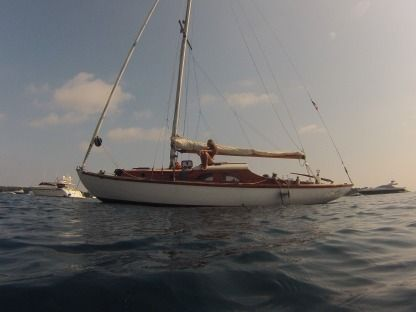 Rental Sailboat Eugéne Plan Cornu Classic Antibes