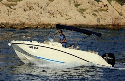 Rental Motorboat Quicksilver 675 Sd Makarska
