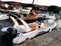 RIB Capelli Tempest 770 for rental
