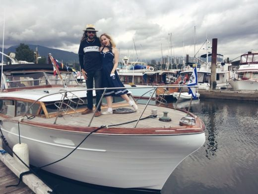 Rental motorboat in Vancouver