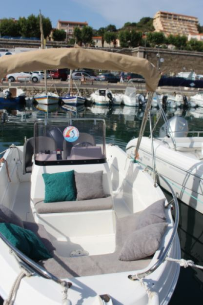 Charter Motorboat Passific Craft Open 5M Port-Vendres