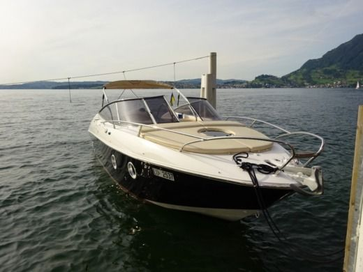 Charter motorboat in Lucerne peer-to-peer