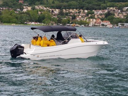 Rental Motorboat Atlantic Marine 750 Open Kotor