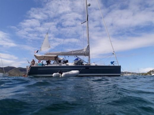 Sailboat Hanse 430e peer-to-peer