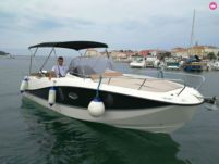Motorboat Quicksilver 755 for hire