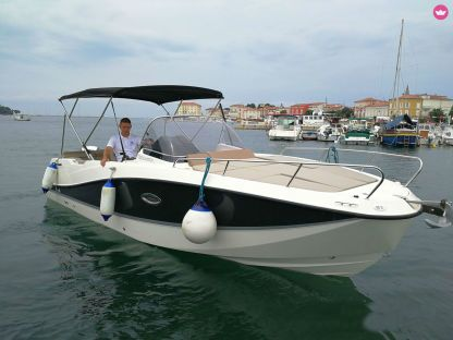 Rental Motorboat Quicksilver 755 Poreč