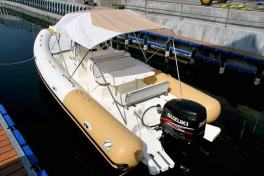 Zodiac 750 Club in Malta for hire
