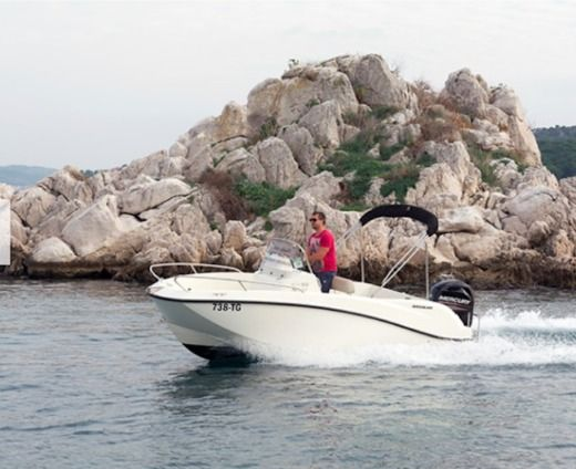 Motorboat Quicksilver 505 Activ Open